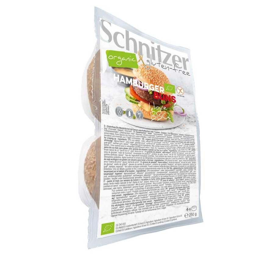 Schnitzer Hamburger Buns bio 250g