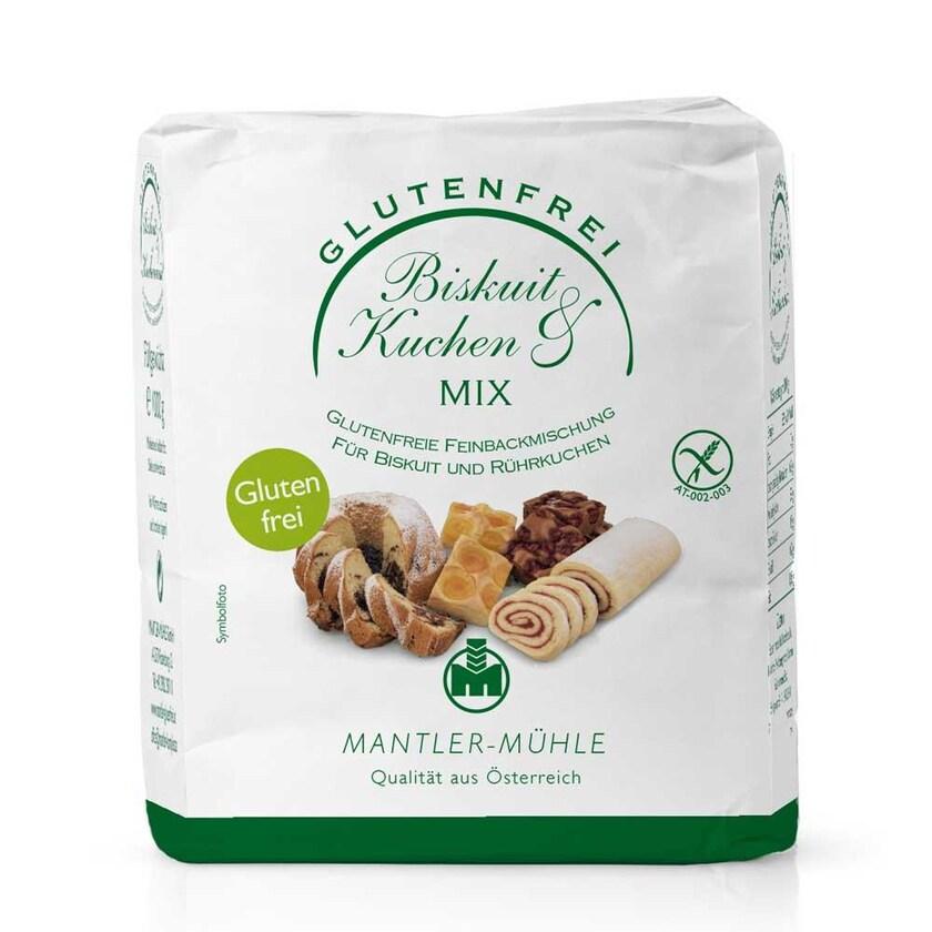 Mantler Biskuit & Kuchen Mix 1kg