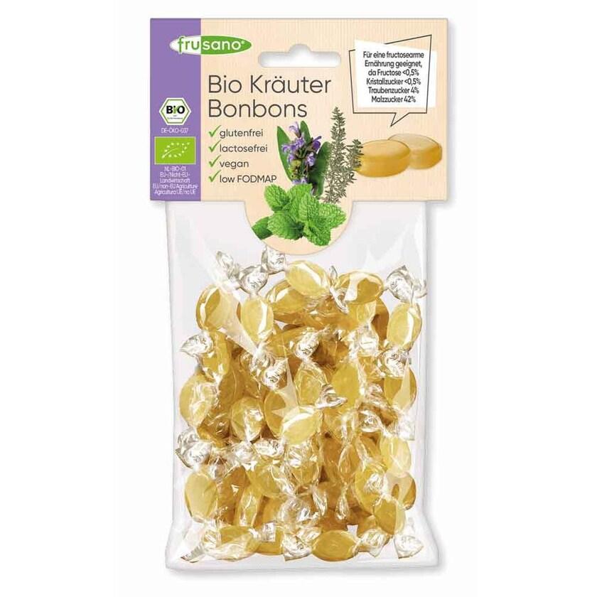 Frusano Bio Kräuter Bonbons 85g