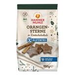 Hammermühle Orangensterne in Zimtschokolade bio 150g
