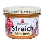Zwergenwiese Streich Kräuter-Tomate bio 180g