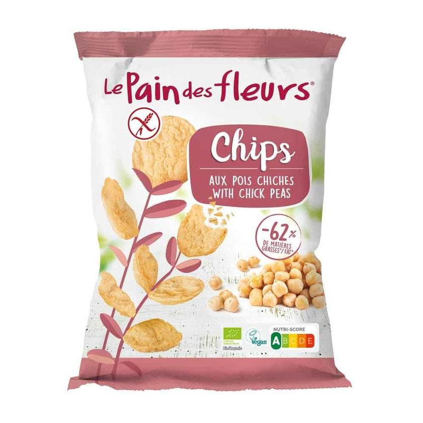 Blumenbrot Chips Kichererbse bio 50g