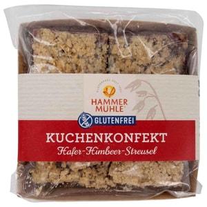 Hammermühle Kuchenkonfekt Hafer-Himbeer-Streusel 150g