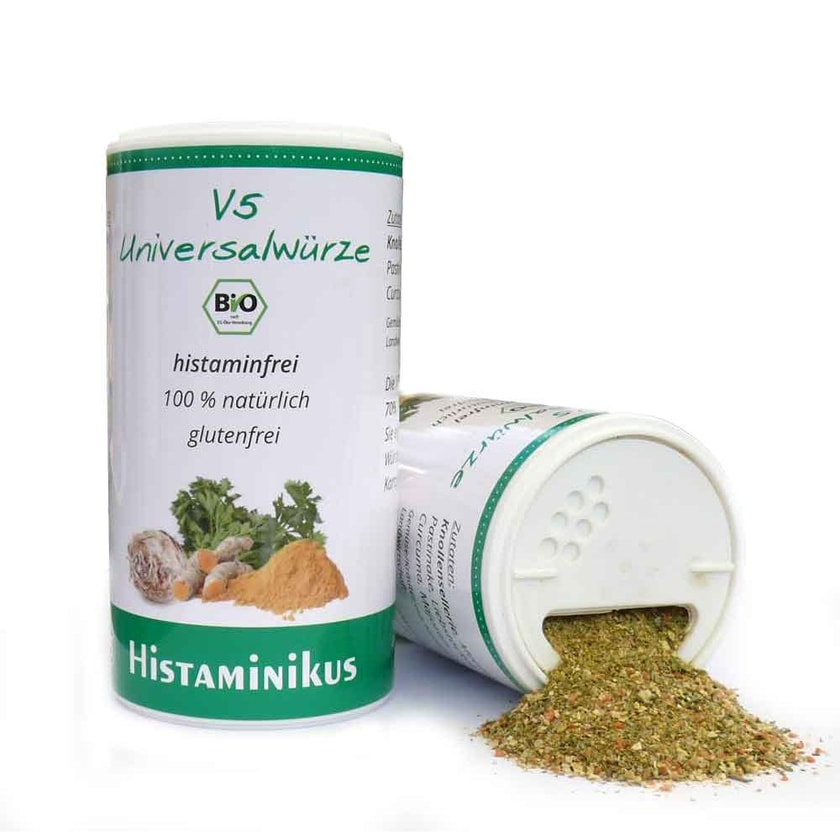 Histaminikus V5 Universalwürze bio 120g