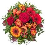 Blumenstrauß Herbstleuchten warm und herbstlich