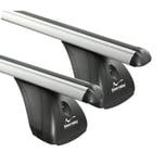 Dachträger Aurilis Original kompatibel mit Hyundai i30 (Schrägheck 3/5 Türer) ab 2012 Aluminium