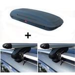 Alu Dachträger VDP 120cm + Dachbox VDP-BA320 320 Liter