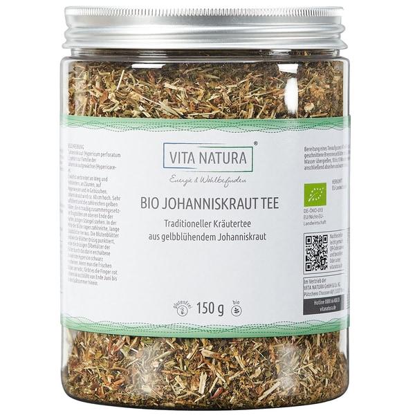 Vita Natura Johanniskraut Tee Bio 150 g