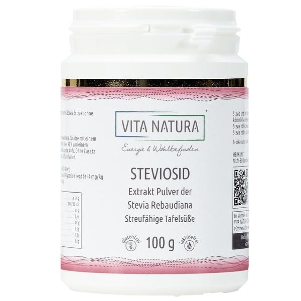 Vita Natura Steviosid Pulver 100 g