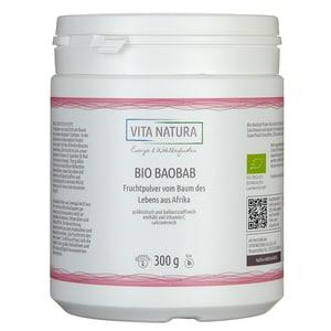 Vita Natura Baobab Fruchtpulver Bio 300 g