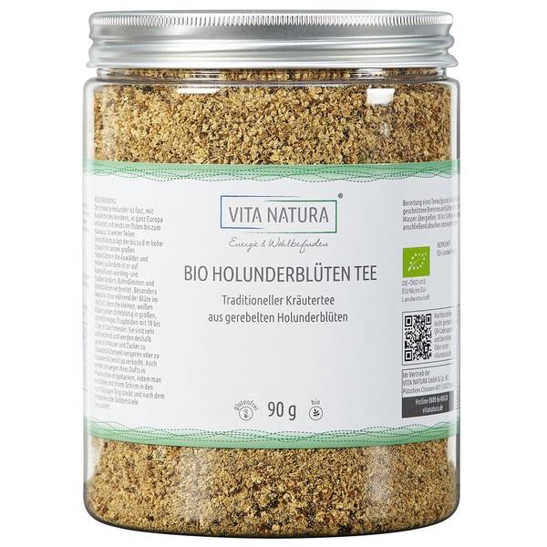 Vita Natura Holunderblüten Tee Bio 90 g