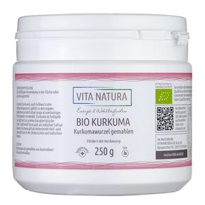 Vita Natura Kurkuma Pulver Bio 250 g