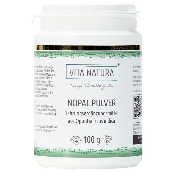 Vita Natura Nopal Feigenkaktus Pulver 100 g