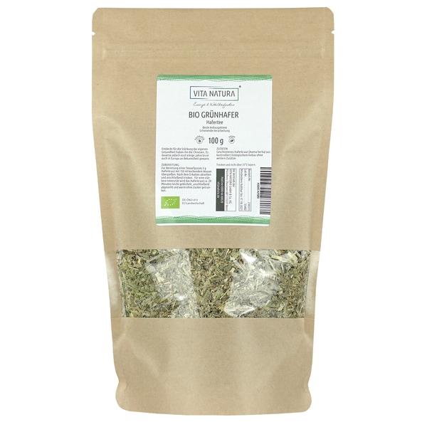 Vita Natura Grünhafer Tee Bio geschnitten 100 g