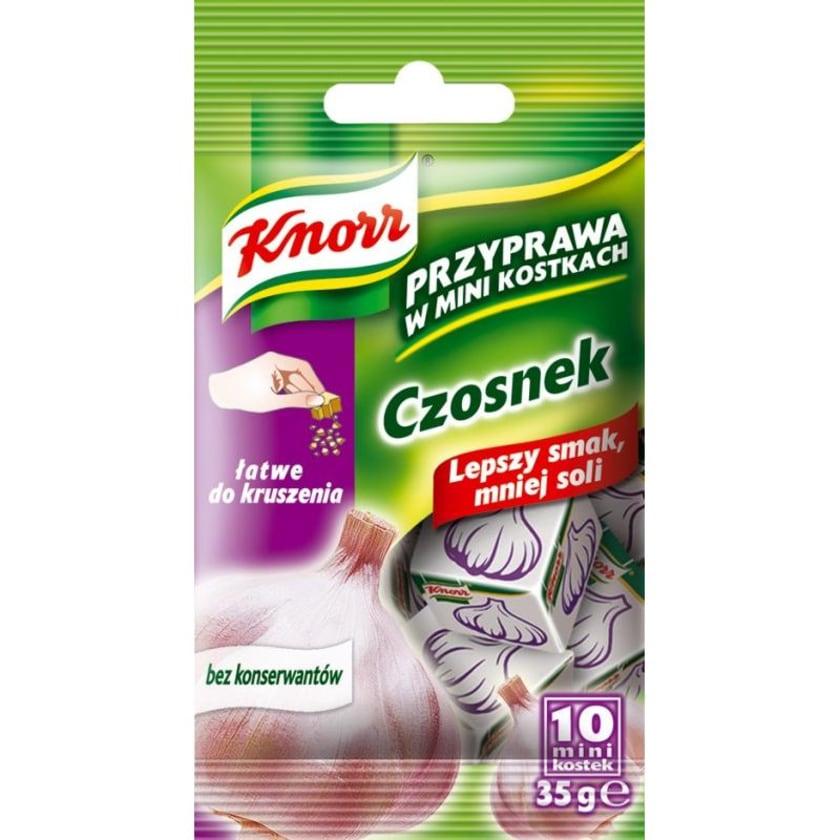 Knorr Knoblauch- Gewürz in Mini-Würfeln 35g