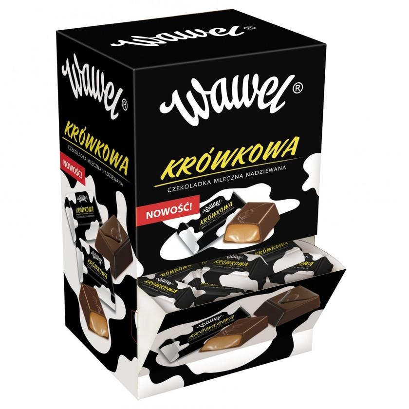 Wawel Bonbons Krowkowa in Schokolade 2,4kg