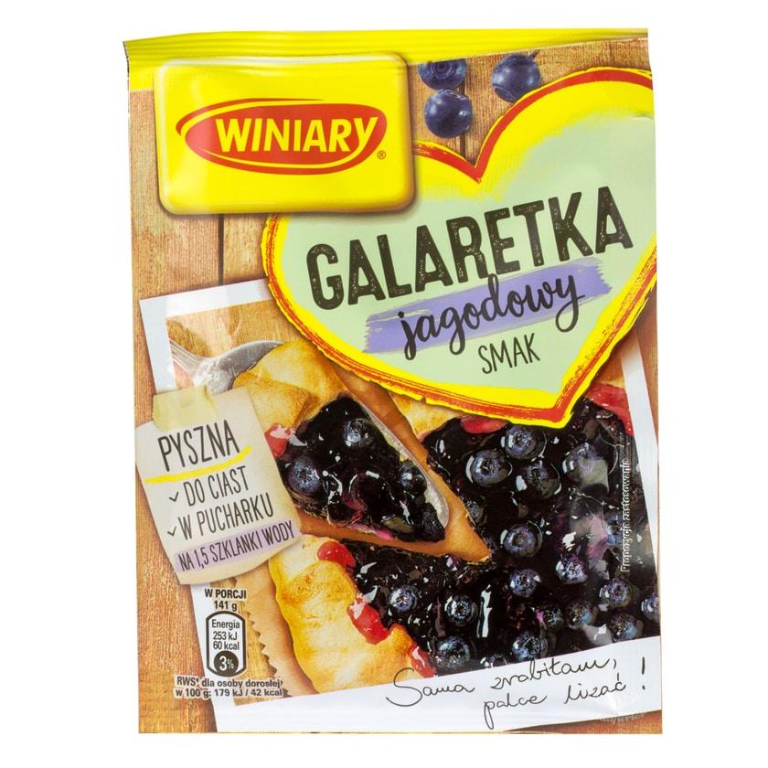 Winiary Götterspeise Blaubeere- Geschmack 47g