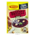 Winiary Borschtsch- Rote Beete-Suppe Instant mit Croutons 16g