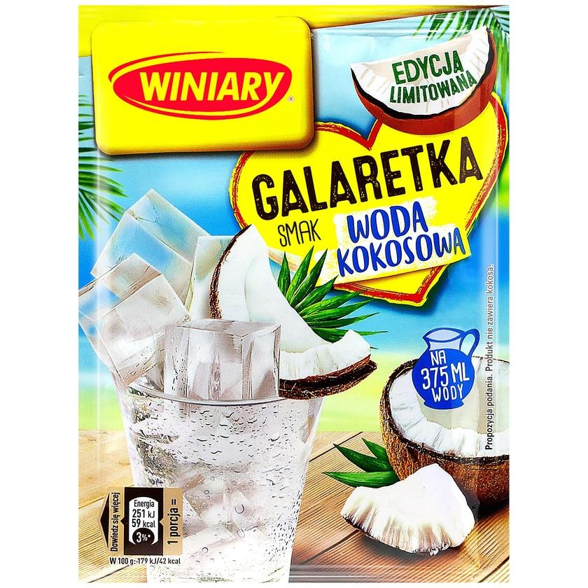 Winiary Götterspeise mit Kokoswasser Geschmack 47g
