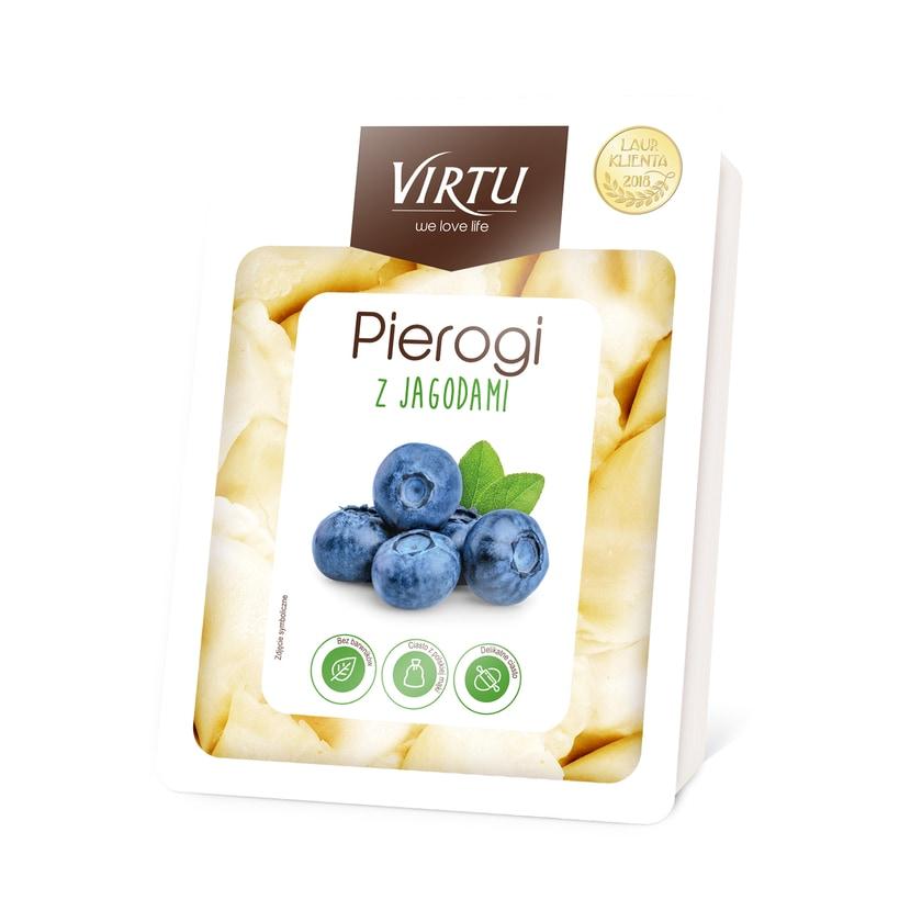 Virtu Pierogi- Maultaschen Blaubeerfüllung 400g