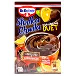 Dr. Oetker Süßer Moment- Schokoladen DUET- Pudding mit Schokoladen- & Orangengeschmack 45g