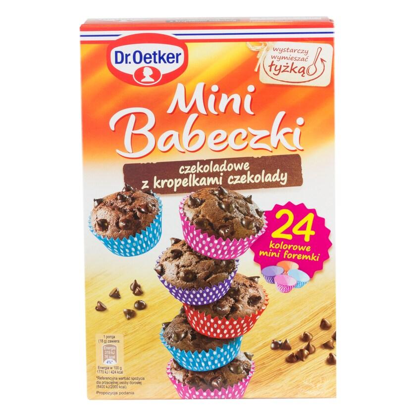 Dr.Oetker Mini-Schokoladenmuffins mit Schokoladentröpfchen 245g