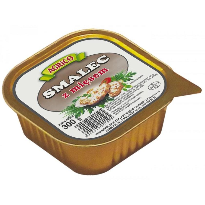 Agrico Schmalz mit Fleisch- größere Verpackung 300g