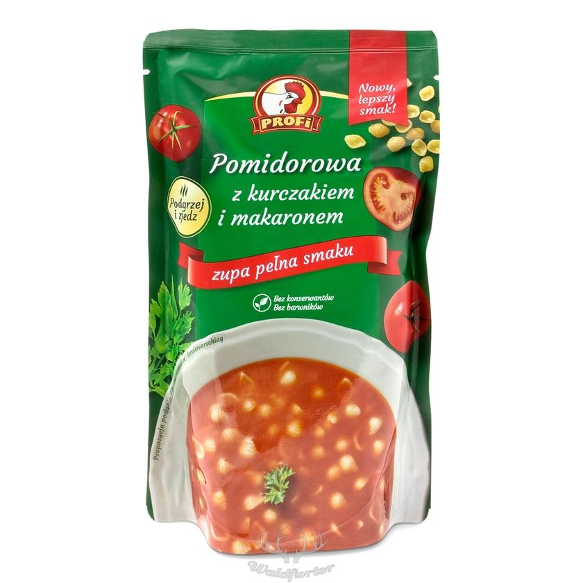 Profi - Tomatensuppe mit Huhn und Nudeln - fertig, nur noch aufwärmen