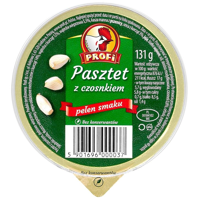 Profi Geflügelpastete - Brotaufstrich mit Knoblauch 131g