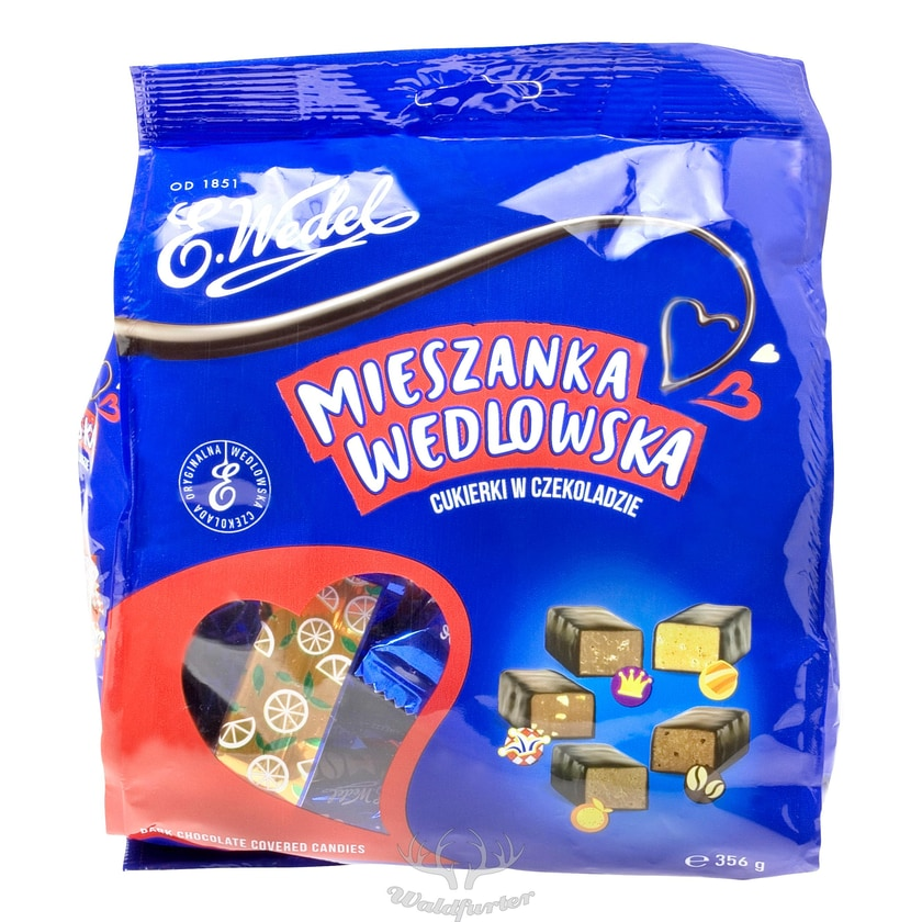E. Wedel Mieszanka Wedlowska- Süßigkeiten Mischung 356g