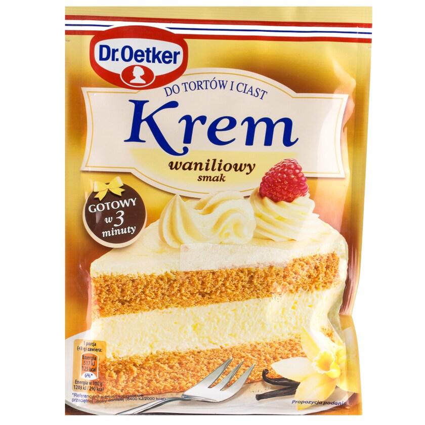 Dr. Oetker Tortencreme mit Vanillegeschmack 120g