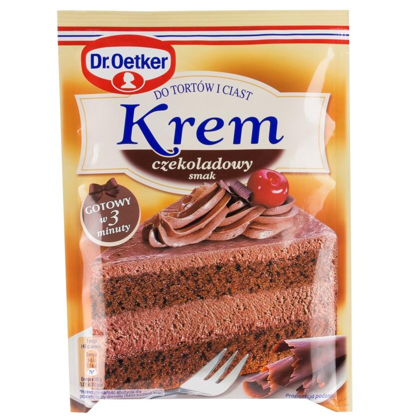 Dr. Oetker Tortencreme mit Schokoladengeschmack 140g