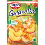 Dr. Oetker Götterspeise mit Pfirsichgeschmack 77g