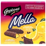 Goplana Mella Götterspeise Zitronengeschmack in Schokolade 190g