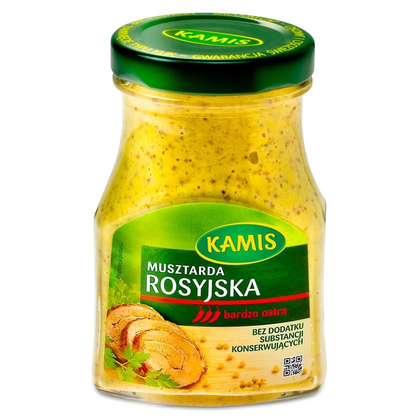 Kamis Senf auf Russische Art- sehr scharf 180g