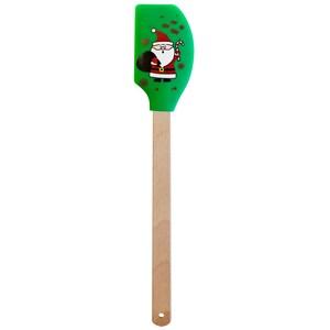 """STONELINE® Silikon Teigschaber """"Weihnachtsmann"""""""