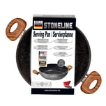 STONELINE® Back to Nature Servierpfanne 28 cm, Made in Germany