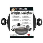 STONELINE® Servierpfanne 32 cm, mit Glasdeckel