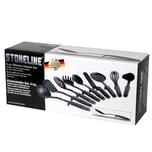 STONELINE® Küchenhelfer-Set, 9-tlg., mit praktischer Stütze
