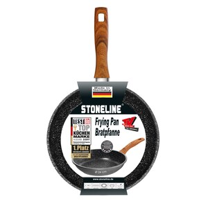 STONELINE® Back to Nature Bratpfanne 24 cm, Made in Germany