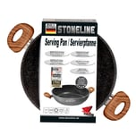 STONELINE® Back to Nature Servierpfanne 24 cm, Made in Germany