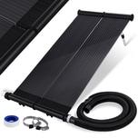 KESSER Sonnenkollektor mit Schlauchschellen & Abdichtungsband höhenverstellbar