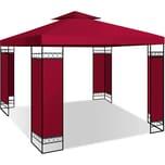 KESSER Pavillon 3x3m wasserabweisend UV Schutz 50