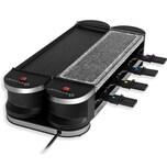 KESSER 2in1 Raclette Tischgrill für 8 Personen Leistung 1200 Watt 8 Pfannen
