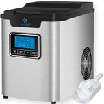 KESSER Eiswürfelbereiter 150W 3 Würfelgrößen Zubereitung 6 min Timer LCDDisplay