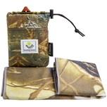 4Monster Outdoor Handtuch Camouflage Muster Mikrofaser Handtuch 30x80cm braun/grün