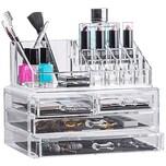 Sollys Anna Aufbewahrungsbox Make Up und Schmuck Acrylorganizer