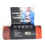 4Monster Wassersport Handtuch 160x80cm Mikrofaserhandtuch orange