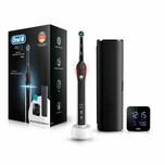Oral-B Pro 2500 Black Design Edition elektrische Zahnbürste inkl. Travelcase und Braun Wecker