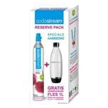 SodaStream Reservezylinder 60 L + Gratis 1 PET 1L Fuse